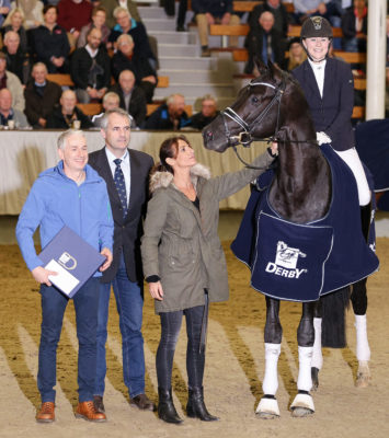 D'Egalité became VTV stallion at the stallion championship