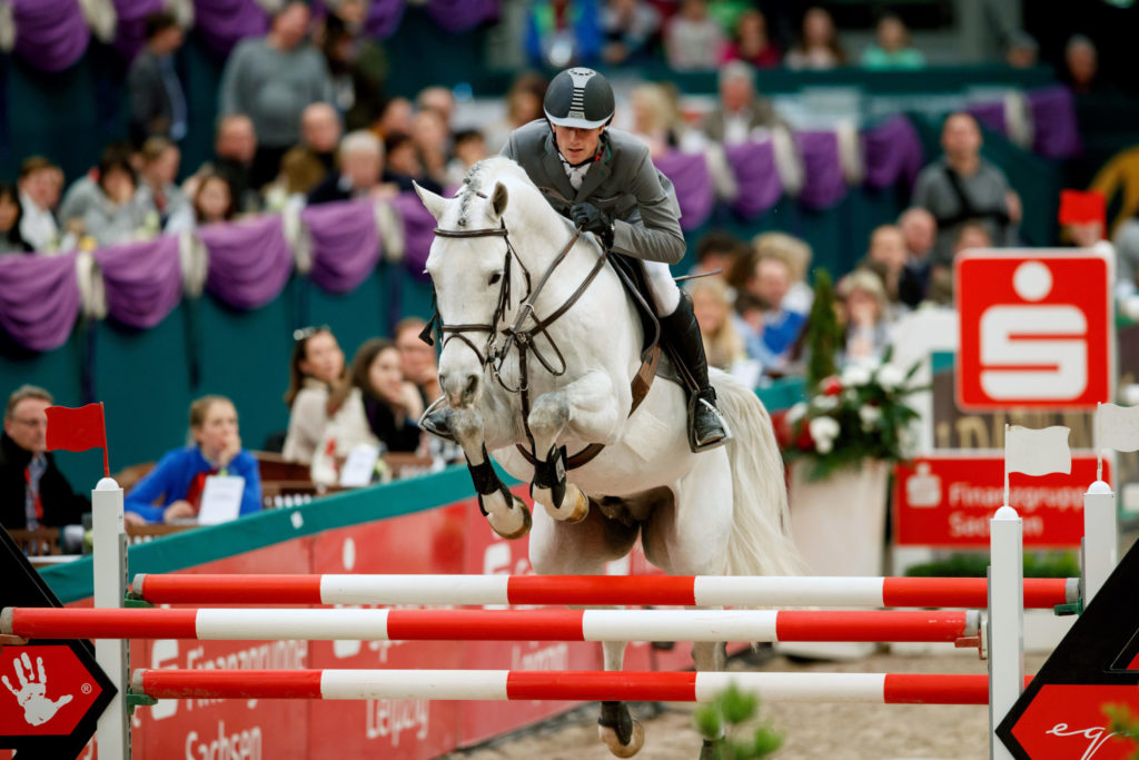 Kukuk, Christian (GER) Cordess Leipzig - Partner Pferd 2017 © Stefan Lafrentz