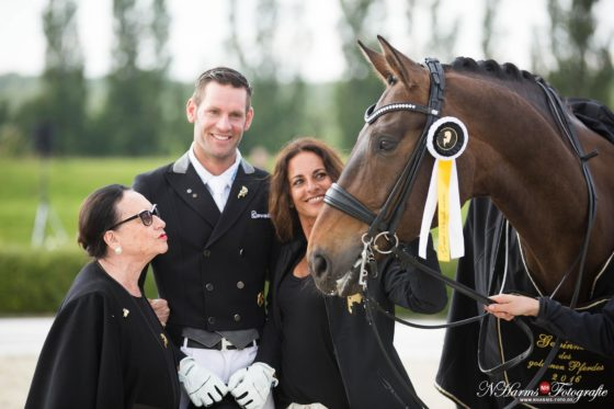 Marcus Hermes gewinnt das Goldene Pferd